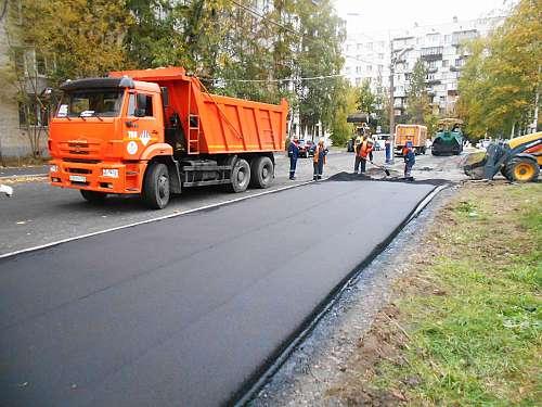 Восстановление дорожного покрытия в Климовске