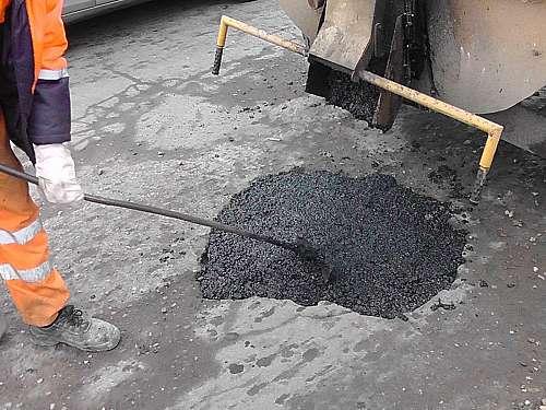 Ямочный ремонт в Климовске
