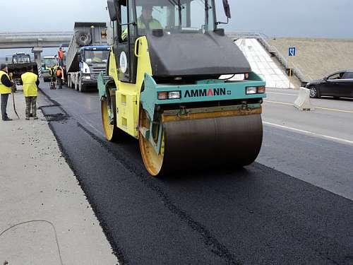 Строительство дорог в Климовске